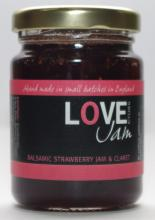 Balsamic Strawberry Jam & Claret