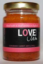 Coriander Carrot Jam with Chilli