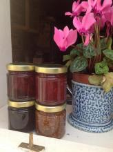 Christma Flavours: Orange Cranberry Pinot Noir Preserve Love Jam Kitchen