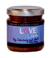 Fig Cranberry and Port Chutney jar